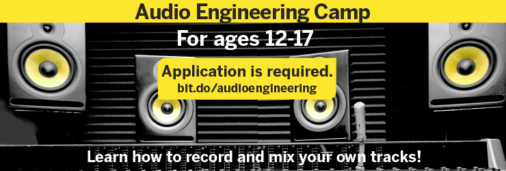 Audio engineering splash