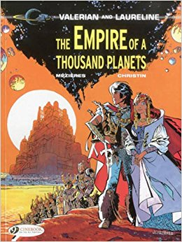 The Empire of a Thousand Planets by Pierre Christin, Jean-Claude Mezieres