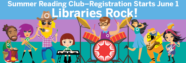 Sign up for Summer Reading Club 2018