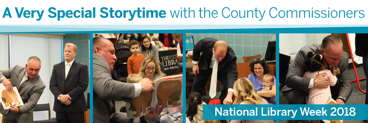 County Commissioners Provide A Very Special Storytime