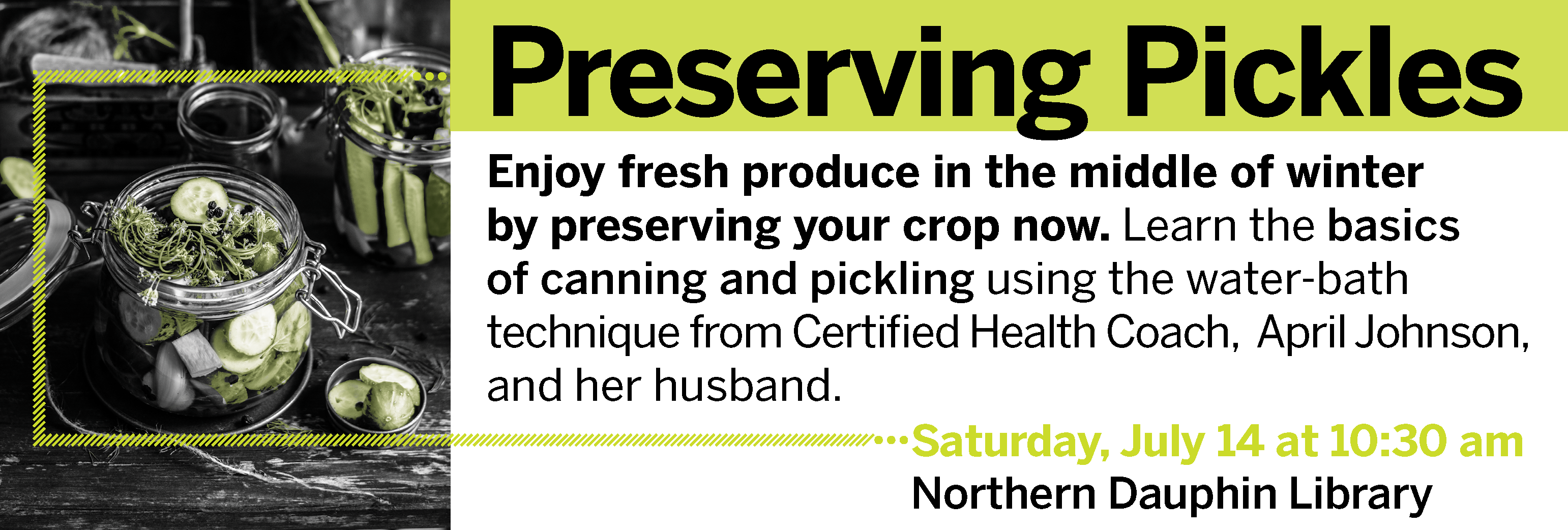Preserving Pickles