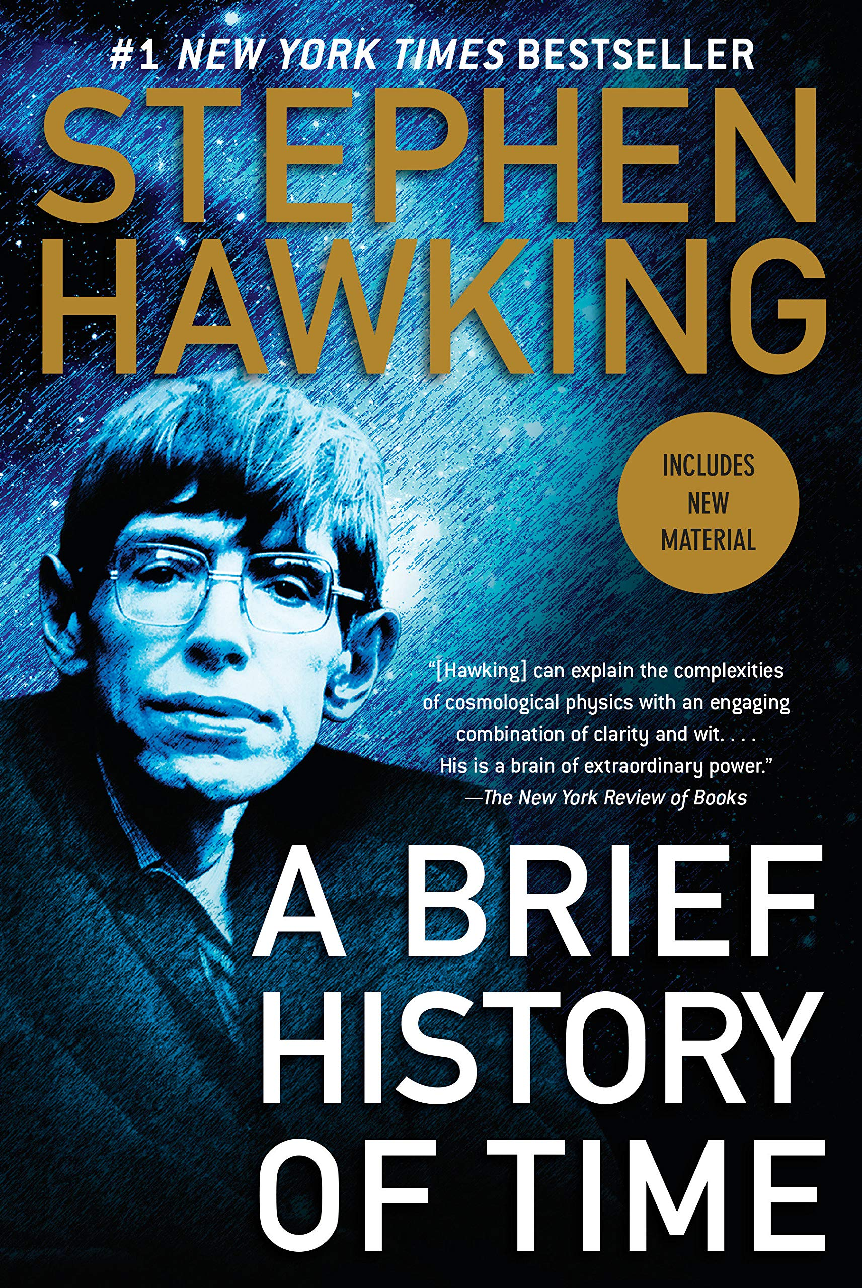 A brief history of time / Stephen Hawking