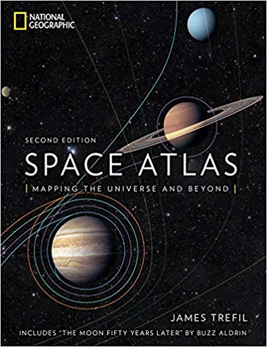 Space atlas : mapping the universe and beyond / James Trefil ;                foreword by Buzz Aldrin