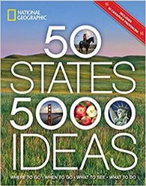 TITLE        50 states, 5,000 ideas : where to go, when to go, what to see,                what to do / text by Joe Yogers