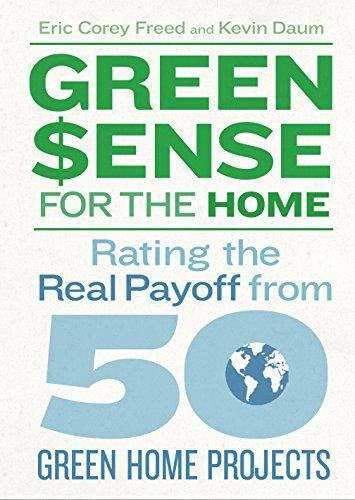 Green $ense for the home : rating the real payoff from 50 green  home projects / Eric Corey Freed and Kevin Daum.