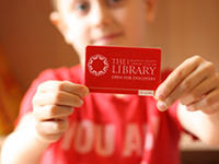 Get a Library Card Now
