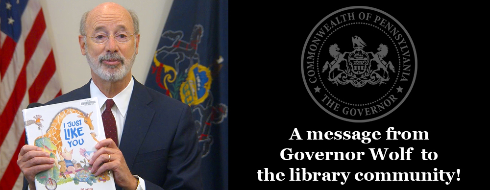 Click to see a Message from Governor Wolf