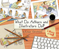 What do authors and illustrators do?