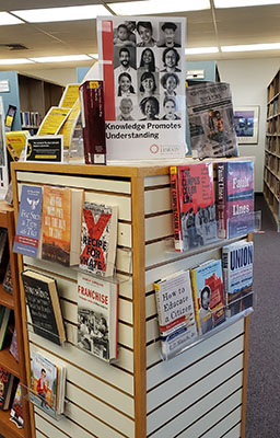 East Shore Area Library Display
