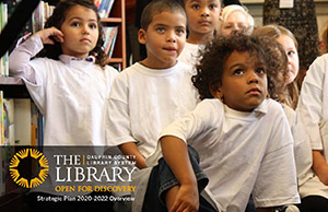 View The Library's 2020 - 2022 Strategic Plan
